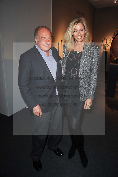Private View of the Pavilion of Art & Design London 2010 held in Berkeley Square, London on 11th October 2010.<br /> Picture Shows:-Financier MARC RICH and DARA SOWELL.