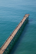 Aerial of the Historic Ventura Pier