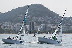 RICKHAM Alexandra, BIRRELL Niki, GBR, 2-Person Keelboat, SKUD18, Sailing, Voile, GUALANDRIS Marco Carlo, ZANETTI Marta, ITA à Rio 2016 Paralympic Games, Brazil