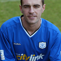 Jamie McQuilken, St Johnstone FC season 2003-2004<br /><br />Picture by Graeme Hart.<br />Copyright Perthshire Picture Agency<br />Tel: 01738 623350  Mobile: 07990 594431