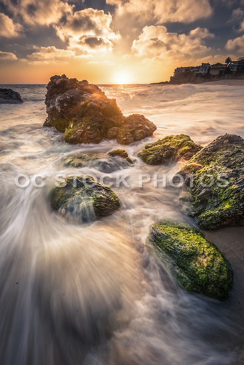 Thousand Steps Beach in Laguna Beach California