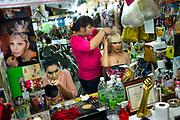 Pattaya December 2013<br /> Transgenders must wear make-up for the show. Nowadays, Alcazar is globally famous with the reputation of the best transvestite cabaret show in Thailand. In addition, It becomes a milestone tourist attraction and a must-to-see show for both Thai and foreigners visiting Pattaya.Pattaya Décembre 2013<br /> Les transsexuels doivent se maquiller pour le spectacle. De nos jours, Alcazar est mondialement connu avec la réputation du meilleur spectacle de cabaret pour travestis en Thaïlande. En outre, il devient une attraction touristique importante et un spectacle incontournable pour les Thaïlandais et les étrangers qui visitent Pattaya.