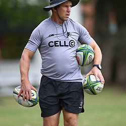 DURBAN, SOUTH AFRICA - MAY 15: Braam van Straaten of the Cell C Sharks during the Cell C Sharks training session at Jonsson Kings Park on May 15, 2018 in Durban, South Africa. (Photo by Steve Haag/Gallo Images)