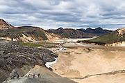Landmannalaugar in South Iceland