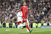 Thomas Muller (Bayern Munich) during the UEFA Champions League, semi final, 2nd leg football match between Real Madrid and Bayern Munich on May 1, 2018 at Santiago Bernabeu stadium in Madrid, Spain - Photo Laurent Lairys / ProSportsImages / DPPI