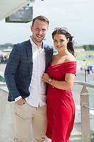 06/08/2017   Laura Fox from Galway at the Galway Races on the last day of the Summer festival.  Andrew Downes, xposure