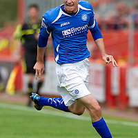 St Johnstone... season 2011-12<br /> David Robertson<br /> Picture by Graeme Hart.<br /> Copyright Perthshire Picture Agency<br /> Tel: 01738 623350  Mobile: 07990 594431