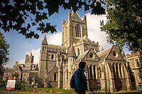 Dublin, Ireland - September 16, 2014: Located in what as the heart of medieval Dublin, Christ Church has been witness to much of the city's history since it's founding in 1030.  CREDIT: Chris Carmichael for the New York Times
