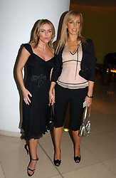 Left to right, actress PATSY KENSIT and JANE BRADLEY at a Burns Night supper in aid of Clic Sargent & Children's Hospital Association Scotland hosted by Ewan McGregor, Sharleen Spieri and Lady Helen Taylor at St.Martin's Lane Hotel, 45 St Martin's Lane, London on 25th January 2006.<br /><br />NON EXCLUSIVE - WORLD RIGHTS