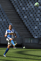 CAPE TOWN, South Africa - Monday 21 January 2013, Michael Lang of Grasshopper Club Zurich during the soccer/football match Grasshopper Club Zurich (Switzerland) and Jomo Cosmos at the Cape Town stadium..Photo by Roger Sedres/ImageSA