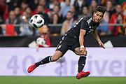 Maximiliano Meza of Argentina during the International friendly game football match between Spain and Argentina on march 27, 2018 at Wanda Metropolitano Stadium in Madrid, Spain - Photo Rudy / Spain ProSportsImages / DPPI / ProSportsImages / DPPI