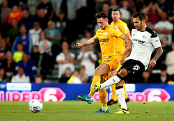 Bradley Johnson of Derby County passes the ball - Mandatory by-line: Robbie Stephenson/JMP - 15/08/2017 - FOOTBALL - Pride Park Stadium - Derby, England - Derby County v Preston North End - Sky Bet Championship