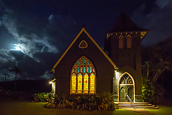 Hanalei Church, Kauai, Hawaii