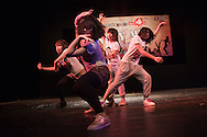 DANCE 4 LIFE (Rutgers WPF) Hip Hop Contest at the Youth Theater, Hanoi, May 8th 2011. Jury : Viet Thanh ( Big Toe ), Mr Beat Box, Mr Eamonn Murphy (UNAIDS ), Ms Nguyen Thi Hien. Photos © Sébastien Löffler / NOI Pictures 2011.