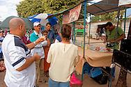 Sandwich stand in Ciro Redondo, Ciego de Avila, Cuba.