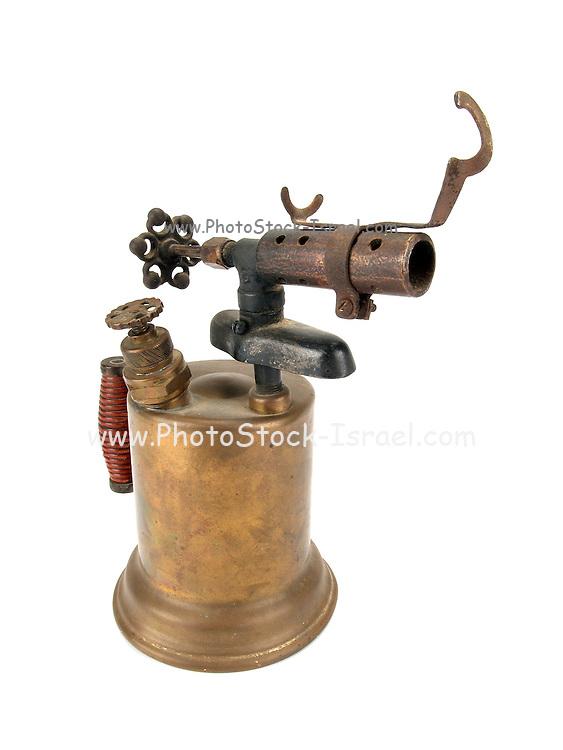 Old style bronze burner