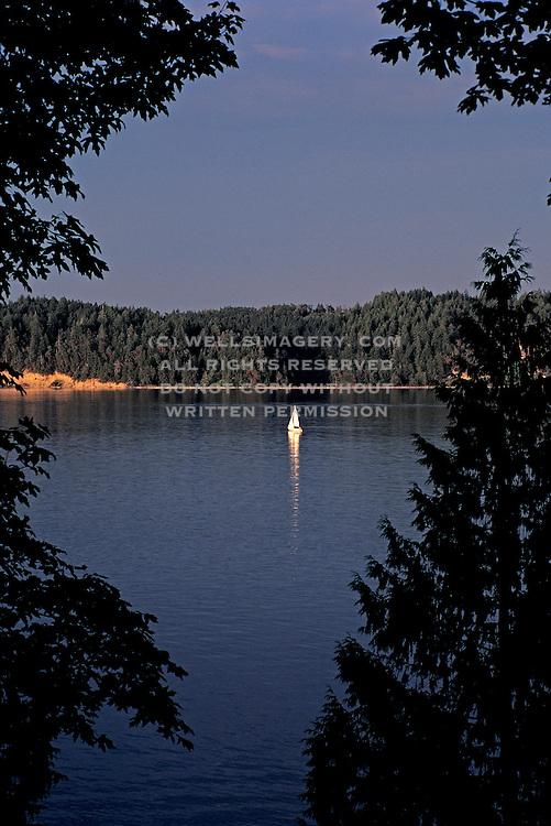 Image of Harstine Island, Case Inlet and Key Peninsula, South Sound, Washington, Pacific Northwest