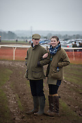 TOM VACHER; IZZY BAINBRIDGE, The Heythrop Hunt Point to Point. Cocklebarrow. 24 January 2016
