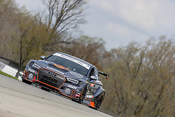May 4, 2018 - Lexington, Ohio, United States of America - The Compass Racing APR AlphaClone Brooklyn Tailors Race Day Foundation Audi RS3 LMS races through the turns at the Mid-Ohio 120 at Mid Ohio Sports Car Course in Lexington, Ohio. (Credit Image: © Walter G Arce Sr Asp Inc/ASP via ZUMA Wire)