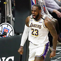 03-08 LOS ANGELES LAKERS AT LA CLIPPERS
