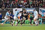 27.09.2014. All Blacks captain Richie McCaw in action. Test Match Argentina vs All Blacks during the Rugby Championship at Estadio Único de la Plata, La Plata, Argentina.