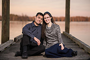 Israel and Aisha Engagement | New Bern NC Photographers