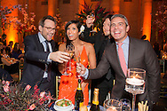 NEW YORK, NY - APRIL 13, 2015. 7th Annual Blossom Ball Benefiting The Endometriosis Foundation Of America Hosted By EFA Founders Padma Lakshmi And Tamer Seckin, MD at Cipriani 25 Broadway, New York City. Photography by Margarita Corporan