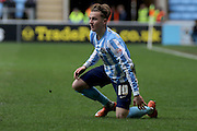 Coventry City Midfielder James Maddison during the Sky Bet League 1 match between Coventry City and Rochdale at the Ricoh Arena, Coventry, England on 5 March 2016. Photo by Chris Wynne.