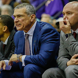 Feb 1, 2017; Baton Rouge, LA, USA; South Carolina Gamecocks head coach Frank Martin reacts from the bench during the second half of a game against the LSU Tigers at the Pete Maravich Assembly Center. South Carolina defeated LSU 88-63. Mandatory Credit: Derick E. Hingle-USA TODAY Sports
