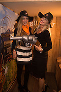 CORALIE ROBINSON; TARA VIESNIK, The launch of Beaver Lodge in Chelsea, a cabin bar and dance saloon, 266 Fulham Rd. London. 4 December 2014