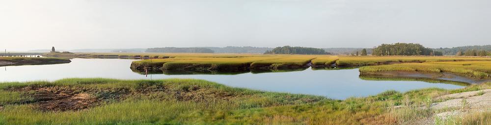 Dawn at the North River Salt Marsh in Marshfield, MA