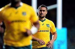 Leroy Houston of Australia - Mandatory byline: Patrick Khachfe/JMP - 07966 386802 - 08/10/2016 - RUGBY UNION - Twickenham Stadium - London, England - Argentina v Australia - The Rugby Championship.