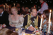 JACQUE CONNOR AND THE EARL OF MARCH AND KINRARA, Goodwood Revival Ball. Saturday 17 September 2005.  ONE TIME USE ONLY - DO NOT ARCHIVE  © Copyright Photograph by Dafydd Jones 66 Stockwell Park Rd. London SW9 0DA Tel 020 7733 0108 www.dafjones.com