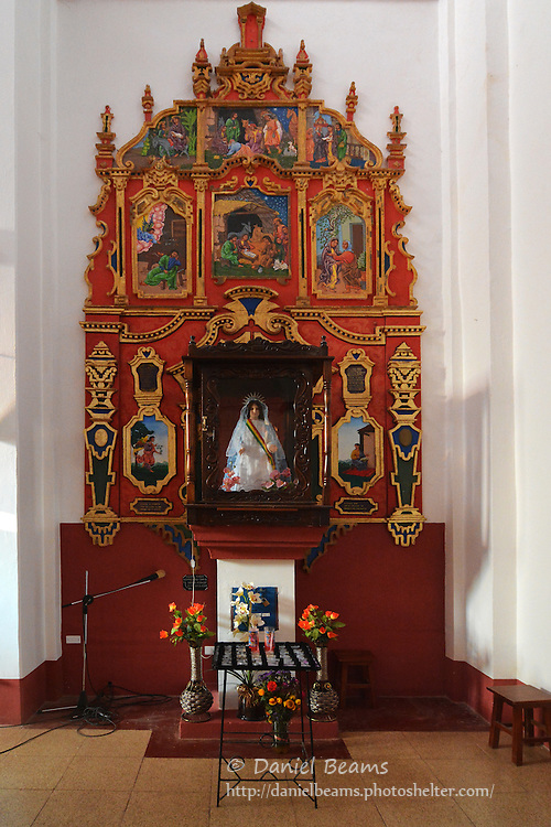 Catholic church in Charagua, Santa Cruz, Bolivia