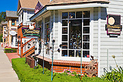 Moonstones Gallery and shops, Cambria, California