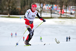 TOROPOV AIeksei Guide: FATKHULLIN Evgenii, RUS at the 2014 IPC Nordic Skiing World Cup Finals - Middle Distance