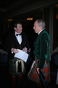 Lord Doune and Louis Greig. The  Royal Caledonian Ball in aid of The Royal Caledonian Ball Trust held at The Grosvenor House Hotel, Park Lane, London W1.  28  April 2005. ONE TIME USE ONLY - DO NOT ARCHIVE  © Copyright Photograph by Dafydd Jones 66 Stockwell Park Rd. London SW9 0DA Tel 020 7733 0108 www.dafjones.com