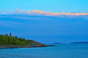 Lake Superior at sunset, Rossport, Ontario, Canada