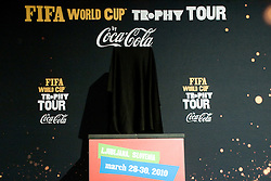 FIFA World Cup Trophy Tour by Coca-Cola, on March 29, 2010, in BTC City, Ljubljana, Slovenia.  (Photo by Vid Ponikvar / Sportida)