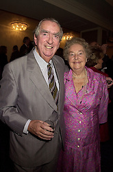 LORD & LADY HEALEY at a luncheon in London on 18th October 2000.<br /> OHZ 86