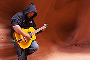Music in the walls, Lower Antelope Canyon, Page, Arizona