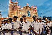 Sri Lanka - Feast day at St. Anthony's shrine, Kochchikade, Colombo. 2012