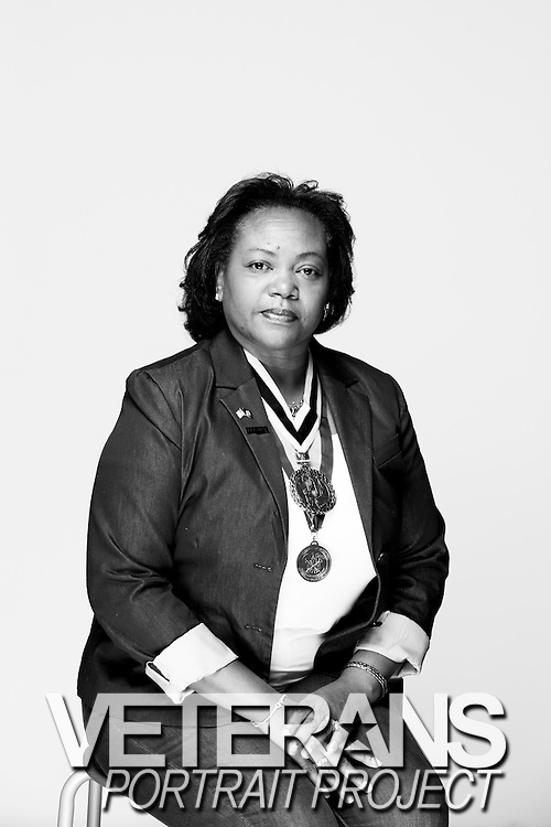 Shirley Wright<br /> Army<br /> E-7<br /> Quartermaster<br /> July 1991 - Oct. 2011<br /> OIF<br /> <br /> Veterans Portrait Project<br /> Columbus, GA