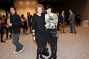 JULIA PEYTON-JONES; ALICE RAWTHORNE, Ai Weiwei Unilever series opening. Tate Modern. 11 October 2010. -DO NOT ARCHIVE-© Copyright Photograph by Dafydd Jones. 248 Clapham Rd. London SW9 0PZ. Tel 0207 820 0771. www.dafjones.com.