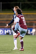 SYDNEY, AUSTRALIA - AUGUST 21: APIA Leichhardt Tigers midfielder Tasuku Sekiya (20) hurts his foot at the FFA Cup Round 16 soccer match between APIA Leichhardt Tigers FC and Melbourne Victory at Leichhardt Oval in Sydney on August 21, 2018. (Photo by Speed Media/Icon Sportswire)