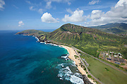 Sandy Beach, Koko Crater, Honolulu, Oahu, Hawaii