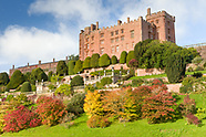 October at Powis Castle