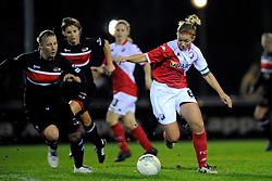 12-11-2009 VOETBAL: FC UTRECHT -AZ VROUWEN: UTRECHT<br /> Utrecht verliest met 1-0 van AZ / Anouk Hoogendijk en Linda Bos<br /> ©2009-WWW.FOTOHOOGENDOORN.NL