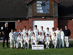 Cricket Kettering U13s v Wollaston 20/4/15jack crick replace
