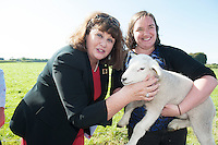 22/09/2014 Repro free Pictured at a visit of Maire Geoghegan-Quinn , European Commissioner for research Innovation and science to Teagasc, Athenry, Co. Galway <br /> . Photo: Andrew Downes